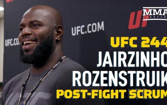 UFC 244: Jairzin Rozenstruik Open To Quick Turnaround Fight Against Alistair Overeem – MMA Fighting