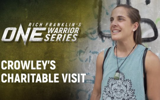Rich Franklin's ONE Warrior Series | Best Moments: Nyrene Crowley's Charitable Visit