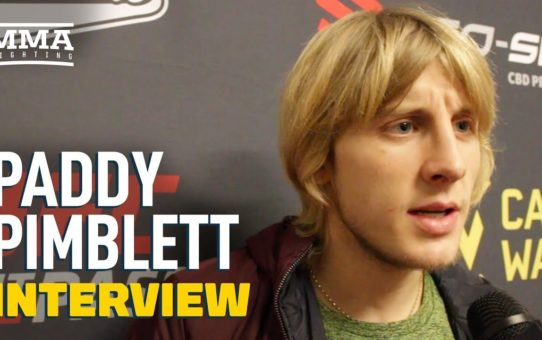 Paddy Pimblett On Joe Giannetti's 'Tactical' Weight Miss: 'He Came For A Free Holiday'