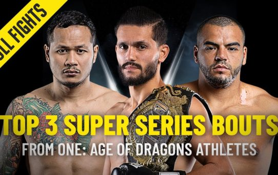 Top 3 ONE Super Series Bouts From ONE: AGE OF DRAGONS Athletes | ONE Full Fights