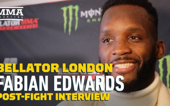 Bellator London: Fabian Edwards Open to Fighting MVP at Middleweight – MMA Fighting