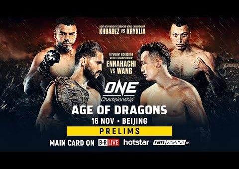 ONE Championship: AGE OF DRAGONS Prelims