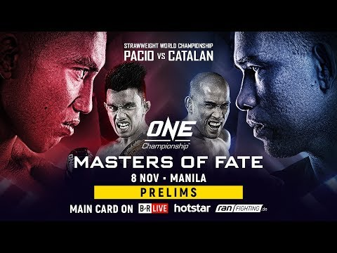 ONE Championship: MASTERS OF FATE Prelims