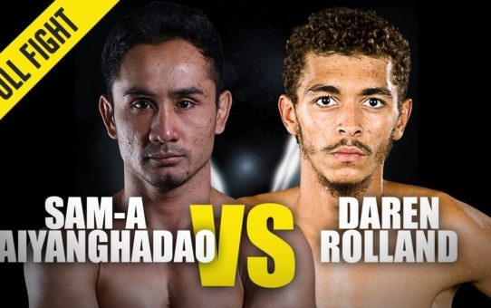 Sam-A Gaiyanghadao vs. Daren Rolland | ONE Full Fight | October 2019