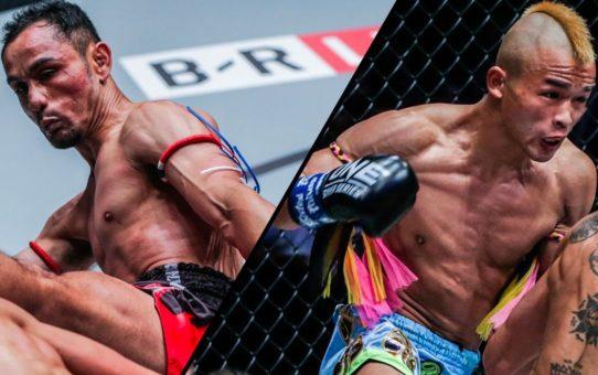 Sam-A Gaiyanghadao vs. Wang Junguang | Top Knockouts | ONE Highlights