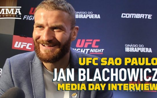 Jan Blachowicz Trained With Thiago Santos' Coaches 'Because They Beat Me Like a Team' – MMA Fighting