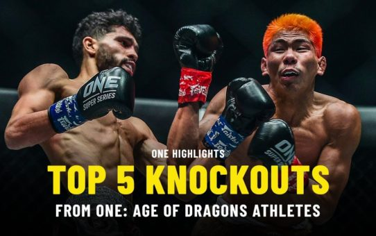 Top 5 Knockouts From ONE: AGE OF DRAGONS Athletes | ONE Highlights