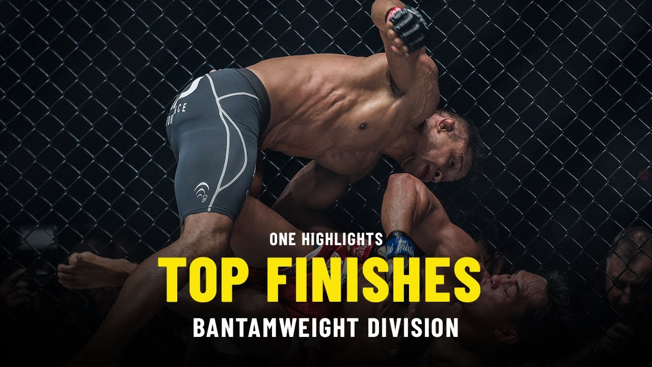 Top Bantamweight Finishes   ONE Highlights