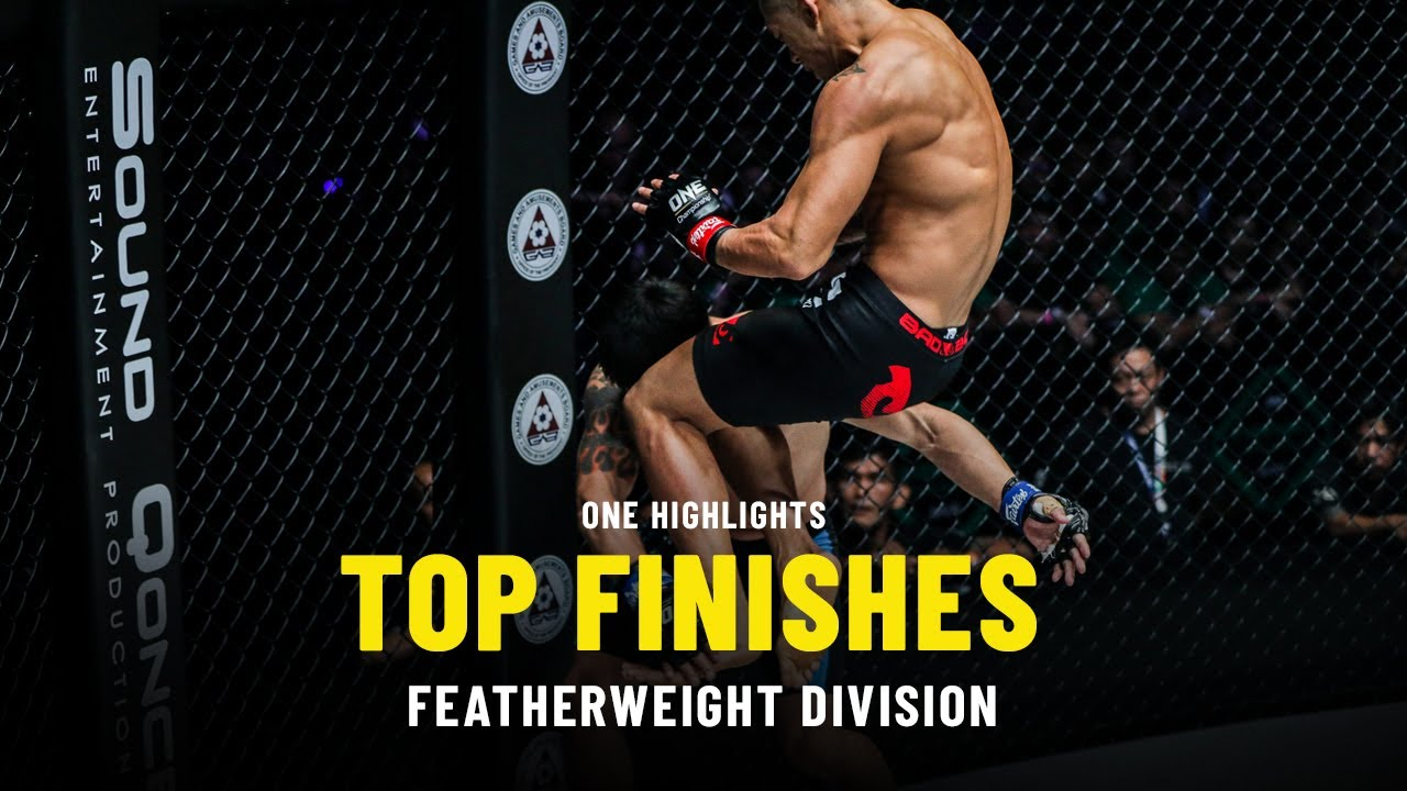 Top Featherweight Finishes   ONE Highlights