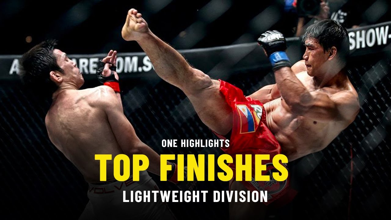 Top Lightweight Finishes | ONE Highlights