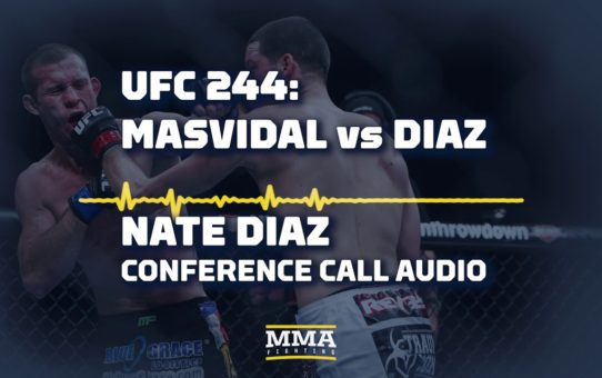 UFC 244: Nate Diaz Conference Call Audio – MMA Fighting