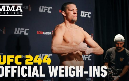 UFC 244 Official Weigh-In Highlights – MMA Fighting