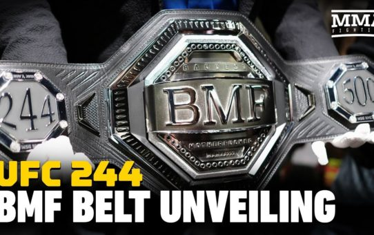 UFC 244: The $50,000 'BMF' Belt Is Revealed – MMA Fighting