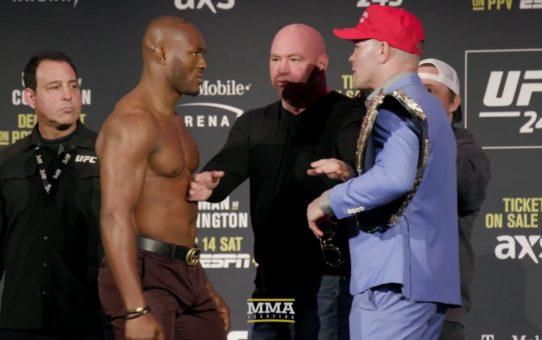 UFC 245 Press Conference Staredowns – MMA Fighting
