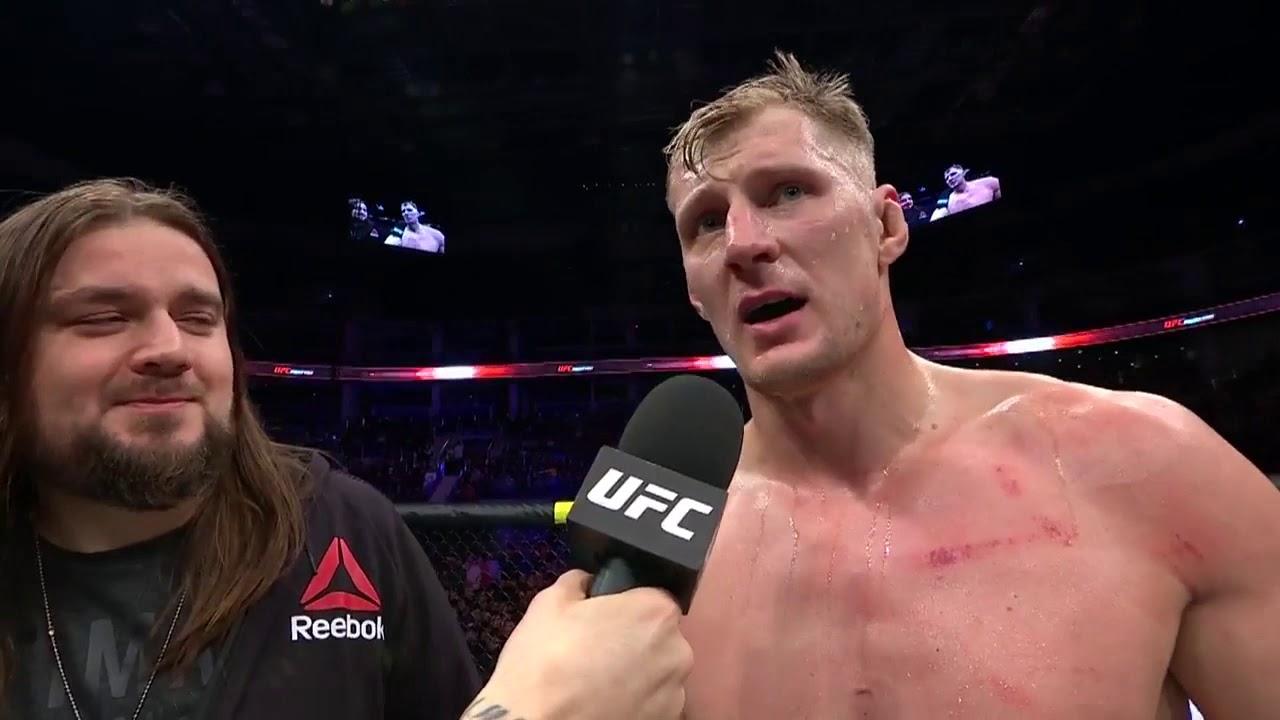 UFC Moscow: Alexander Volkov Octagon Interview