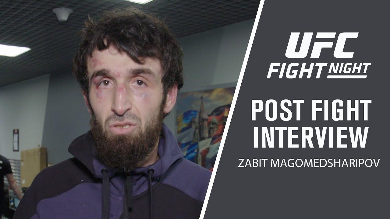 UFC Moscow: Zabit Magomedsharipov Post-fight Interview