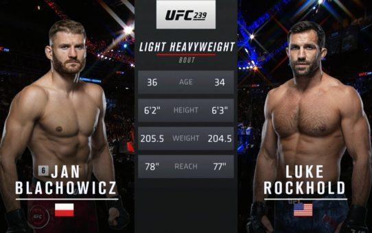 UFC São Paulo Free Fight: Jan Blachowicz vs Luke Rockhold