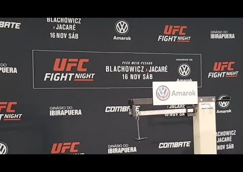 UFC Sao Paulo Official Weigh-ins LIVE