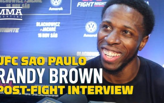 UFC Sao Paulo: Randy Brown Explains Michael Chiesa Callout – MMA Fighting