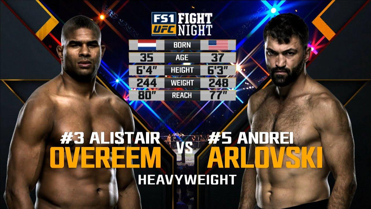 UFC Washington D.C. Free Fight: Alistair Overeem vs Andrei Arlovski