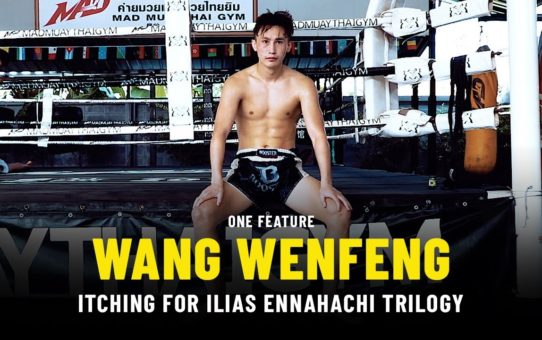 Wang Wenfeng Itching For Ilias Ennahachi Trilogy | ONE Feature