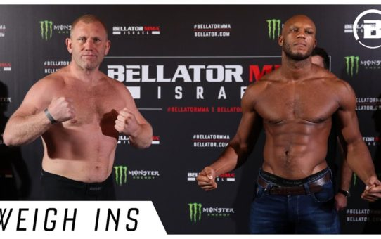 Weigh Ins | Bellator 234