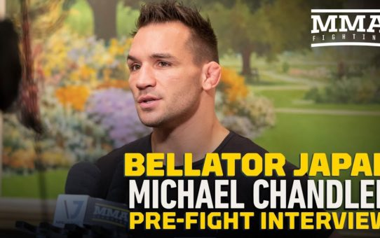 Bellator Japan: Michael Chandler Doesn't Care If He Fights Patricio 'Pitbull' Again – MMA Fighting