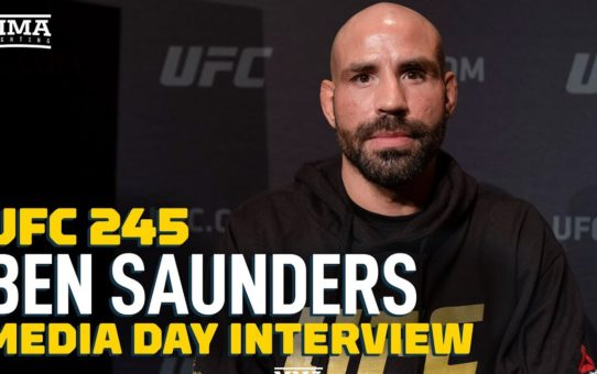 "UFC 245: Ben Saunders Shrugs Off ""Super Negative And Depressing"" Retirement Talk – MMA Fighting"