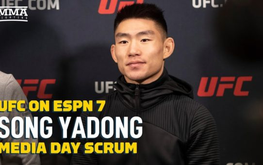 Song Yadong Will Try To Break Jon Jones' Record as Youngest UFC Champ – MMA Fighting
