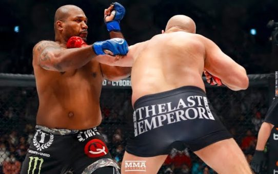 Bellator 237 Highlights: Fedor Emelianenko Knocks Out Rampage Jackson  – MMA Fighting