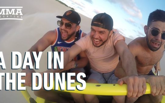 A Day In The Dunes With Henry Cejudo, Kelvin Gastelum – MMA Fighting