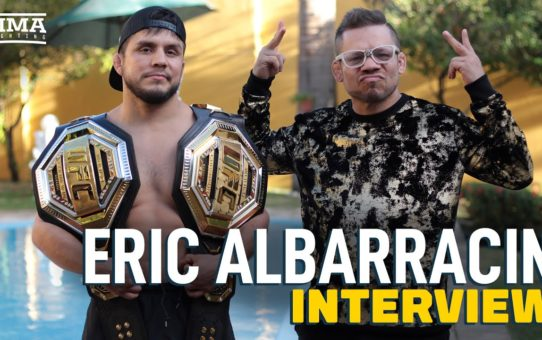 Captain Eric Albarracin Discusses Team's Belt Quest, 'Creating Reality,' and More  – MMA Fighting