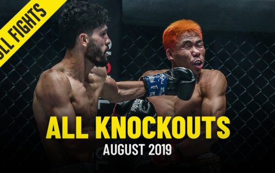 All Knockouts In August 2019 | ONE Full Fights