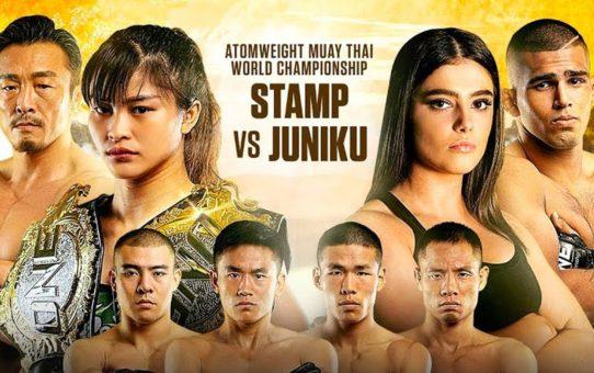 Stamp Fairtex vs. Alma Juniku Headlines ONE: LEGENDARY QUEST | The Best Of ONE Championship
