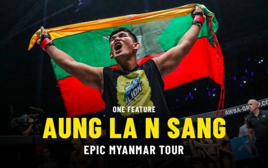 Aung La N Sang's Epic Myanmar Tour | ONE Feature