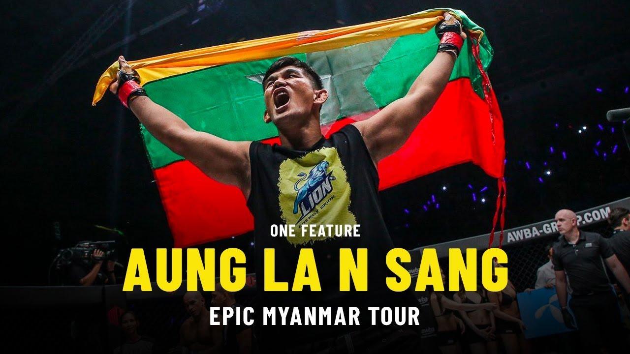 Aung La N Sang's Epic Myanmar Tour   ONE Feature