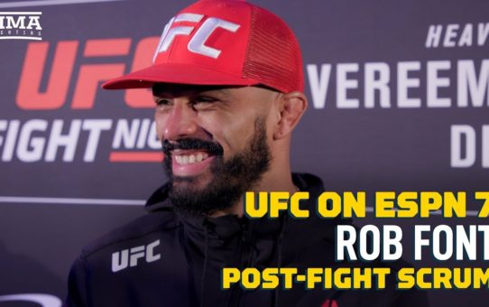 Rob Font Volunteers to Fight Corey Sandhagen at UFC Raleigh – MMA Fighting