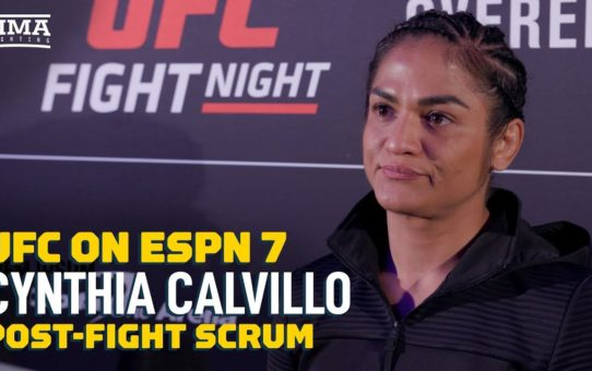 UFC on ESPN  7: Cynthia Calvillo Open To 125-Pound Division After Bad Weight Miss – MMA Fighting