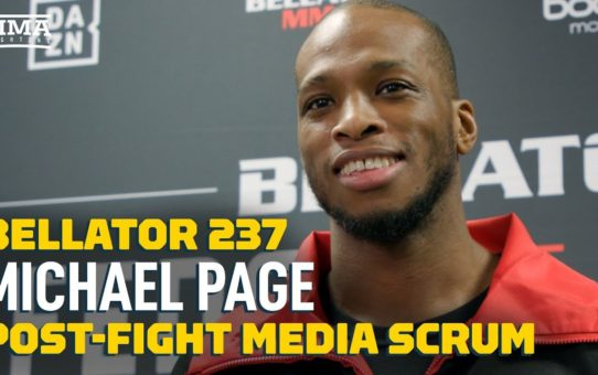Bellator Japan: Michael 'Venom' Page Considers 'Can Crusher' Label A Compliment – MMA Fighting