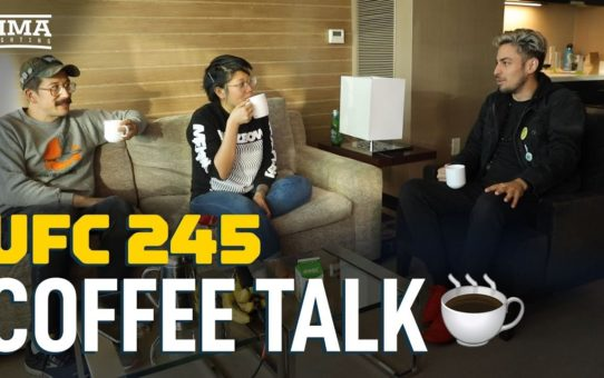 Coffee Talk: UFC 245 Edition – MMA Fighting