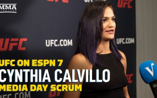 Cynthia Calvillo: I'm Done Giving Paige VanZant Attention  – MMA Fighting