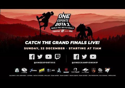 [Full event] ONE Esports Dota 2 Singapore World Pro Invitational Grand Finals