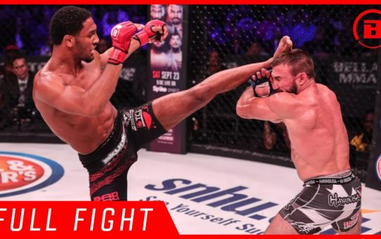 Full Fight | AJ McKee vs. Blair Tugman – Bellator 182
