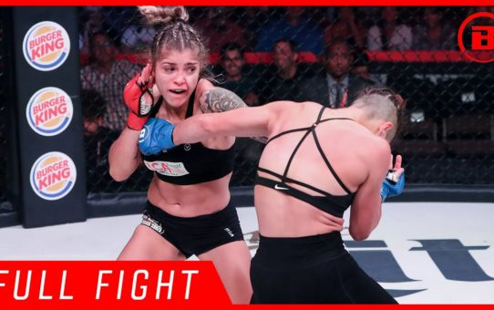 Full Fight | Bruna Ellen vs. Elina Kallionidou – Bellator 224