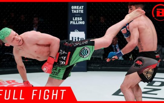 Full Fight | Cass Bell vs. Peter Ishiguro – Bellator 220