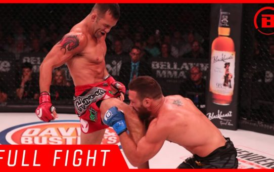 Full Fight | Derek Campos vs. Brandon Girtz 3 – Bellator 181