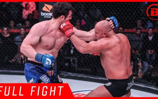 Full Fight | Fedor Emelianenko vs. Chael Sonnen – Bellator 208