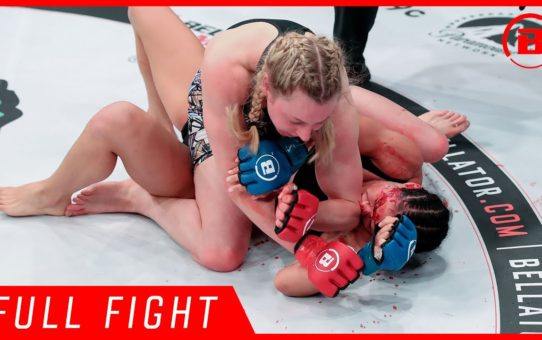 Full Fight | Kate Jackson vs. Lena Ovchynnikova – Bellator 223