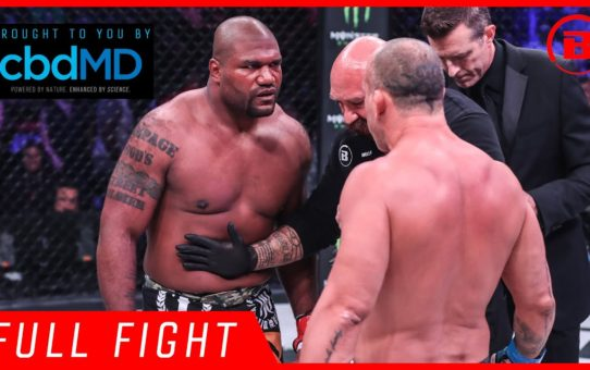 "Full Fight | Quinton ""Rampage"" Jackson vs. Wanderlei Silva – Bellator 206"
