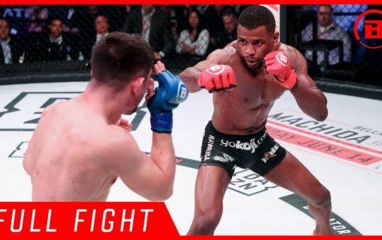 Full Fight | Tywan Claxton vs. James Bennett – Bellator 221